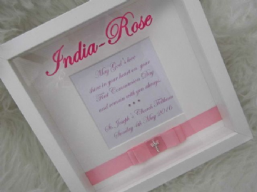 Girls 1st Communion Gift Frame
